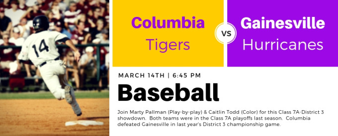 03.14.19 - Columbia at Gainesville